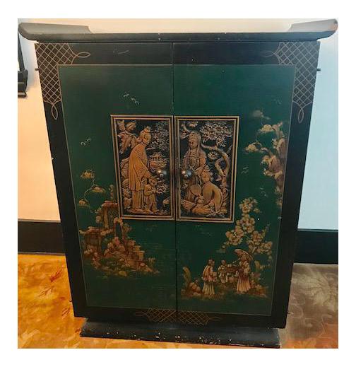 1930u0027s Vintage Bar Cabinet   Image 1 ...