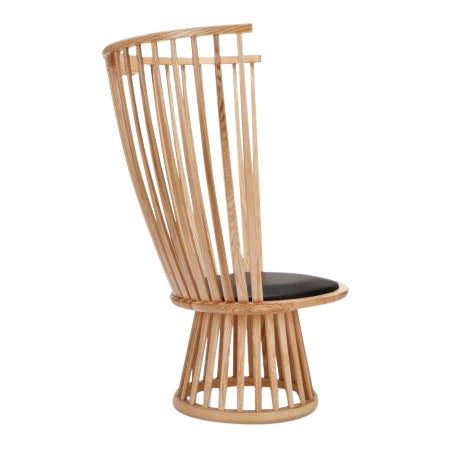 Tom Dixon Fan Chair Natural For Sale