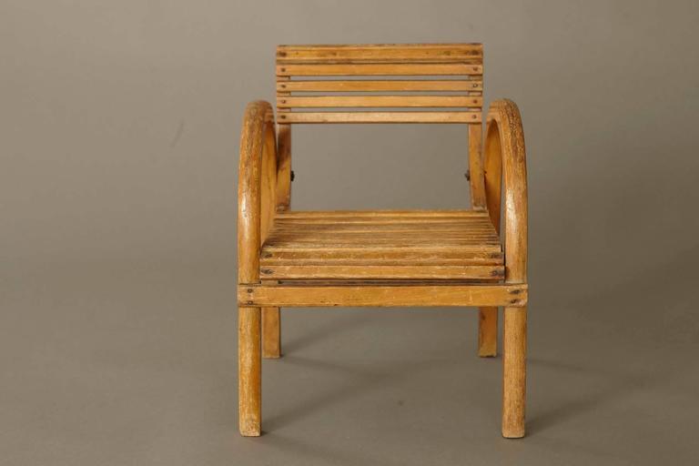 High Quality Mid Century Modern Dutch Childrenu0027s Lounge Chair By Kibofa   Image 4 ...
