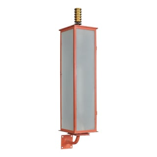 Towering Entrance Lanterns, Swiss Art Deco, 1930s For Sale