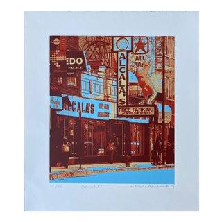 Pop Art Hiroshi Ariyama Serigraph, 'Go West' For Sale