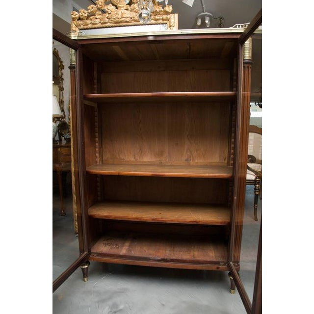 Mid 19th Century 19th Century, Louis XVI Style Mahogany Bookcase For Sale - Image 5 of 10