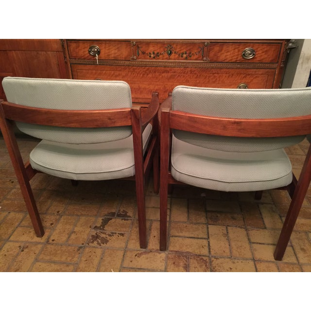 Danish Modern Armchairs - A Pair - Image 4 of 5