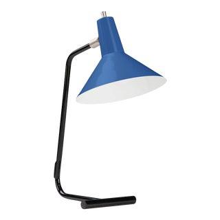 J.J.M. Hoogervorst Blue Model #1504 Table Light for Anvia For Sale