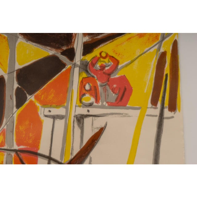 1940s Lithograph After Edouard Pignon Ltd Ed For Sale In West Palm - Image 6 of 10