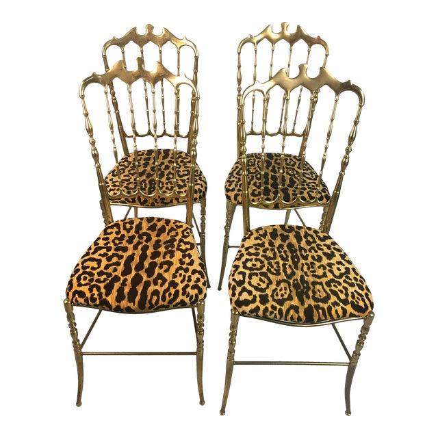 Vintage Italian Chiavari Chairs- Set of 4 For Sale