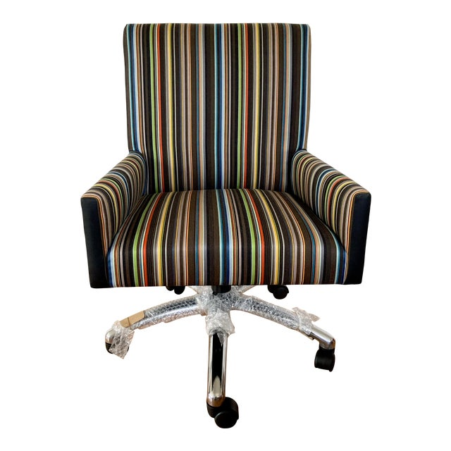 J L F Collections Rolling Desk Chair For Sale