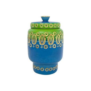 1960s Bitossi Pottery Jar For Sale