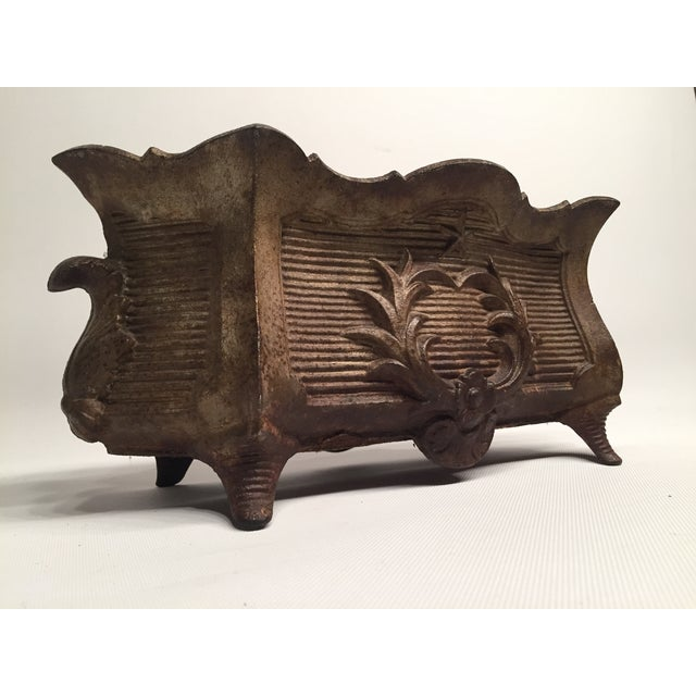 Antique Federal-Style Iron Planter - Image 2 of 6