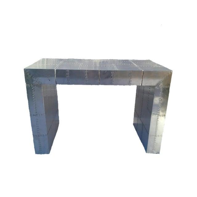Aviator Sleek 2-Drawer Desk - Image 1 of 3