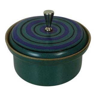 Mid Century Modern David Gil Bennington Pottery Dish For Sale
