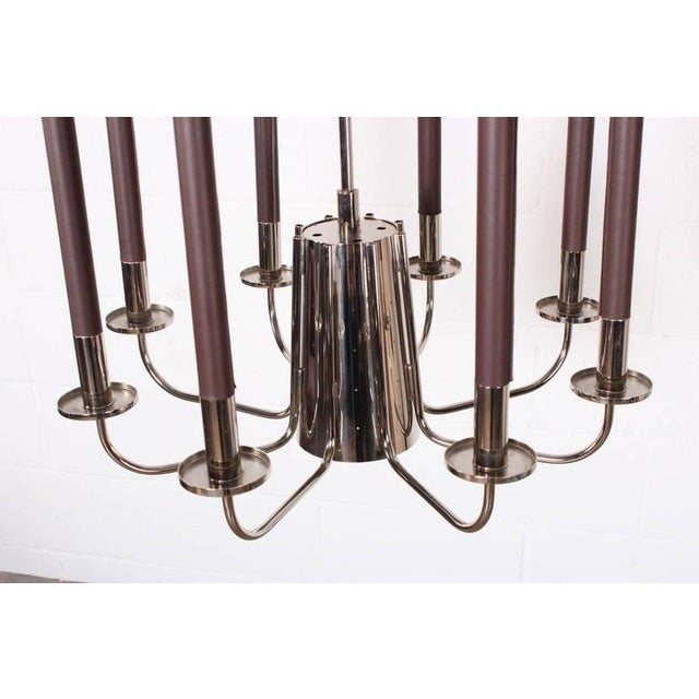 Large Chandelier by Tommi Parzinger - Image 7 of 10