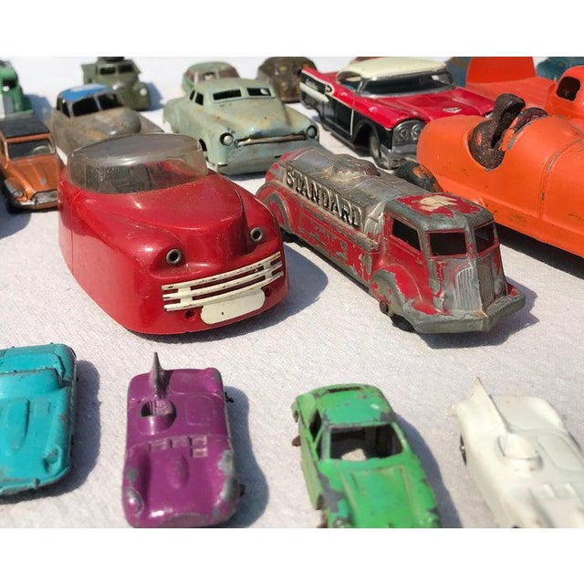 1950s Vintage Toy Cars - 28 Pieces For Sale - Image 4 of 12