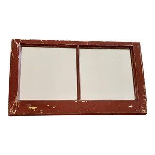 Rustic Vintage Farmhouse Wall Mirror For Sale