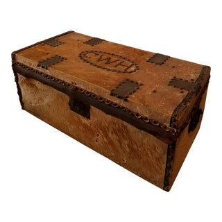 Antique Western Trunk For Sale