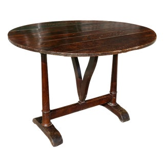 French Provincial Walnut Drinks Table For Sale