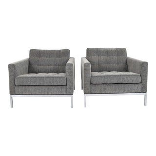 1960s Florence Knoll Chairs - a Pair For Sale