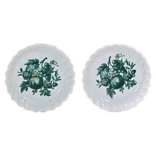 Vintage Porcelain Limoges Fruit Dishes - Pair For Sale