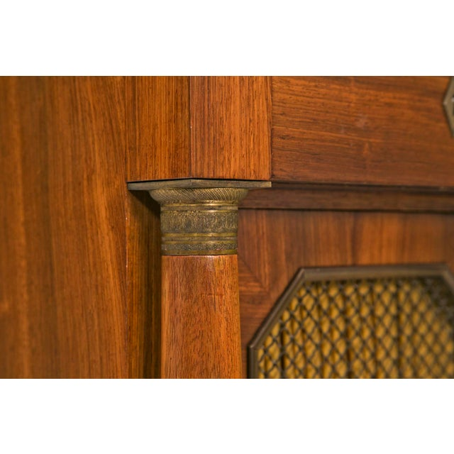 Early 20th Century Early 20th Century French Empire Style Cabinet For Sale - Image 5 of 7