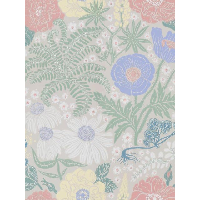 """From the Sandberg collection. Pattern is large. Pattern repeat is 21""""L"""