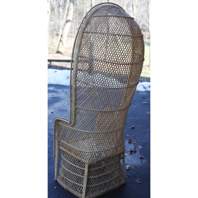 Vintage Rattan Porter Chair - Image 5 of 9