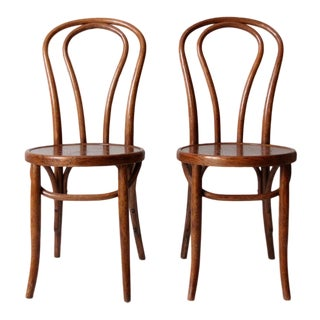 Vintage Bentwood Chairs - a Pair For Sale