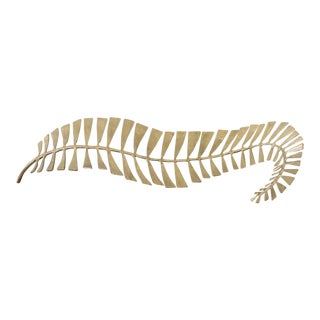 Interlude Home Brass Fern Leaf Tray