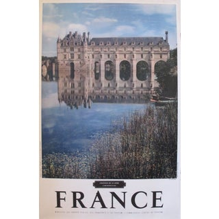 1950s French Travel Poster, Chateau de Loire For Sale
