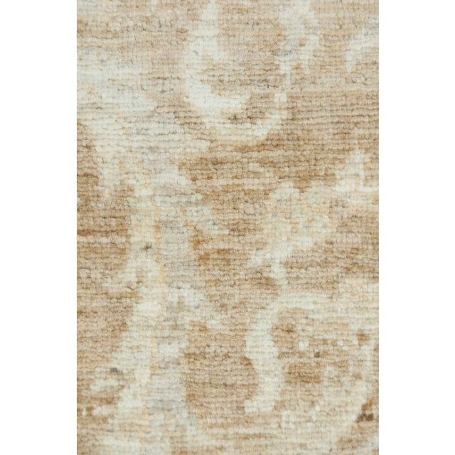"Traditional Oushak, Hand Knotted Runner - 3'3"" X 10'3"" For Sale - Image 3 of 3"
