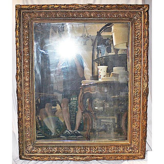 Antique Gilt Gesso Mirror - Image 2 of 7
