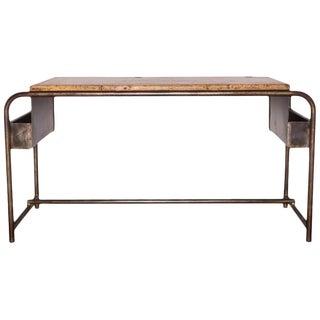 1930's Vintage Belgian School Desk For Sale