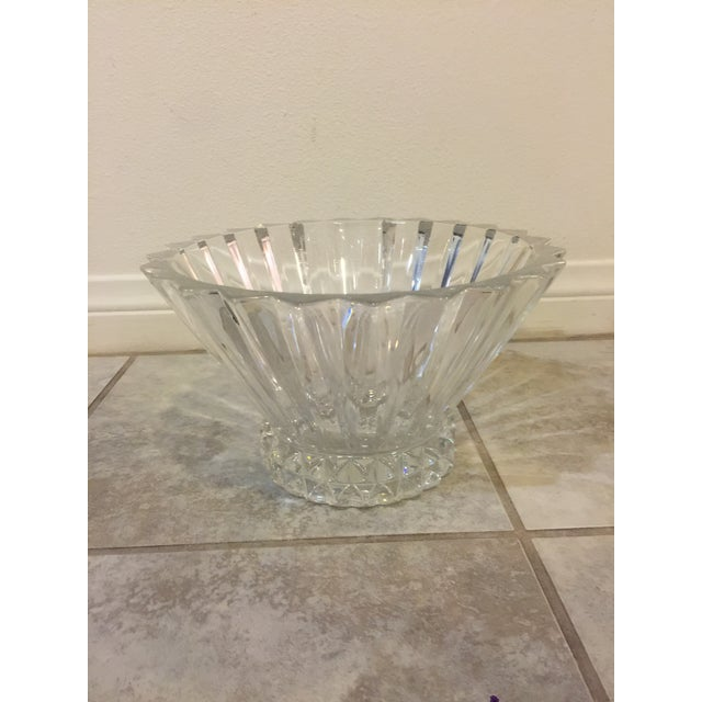 Contemporary Rosenthal Crystal Bowl For Sale - Image 3 of 6