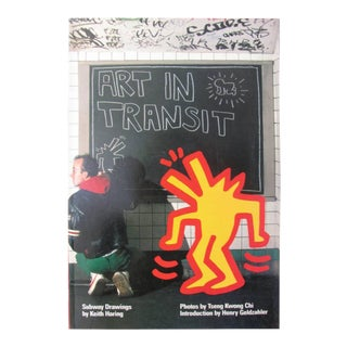 Keith Haring Art in Transit: Subway Drawings Signed, 1984 For Sale