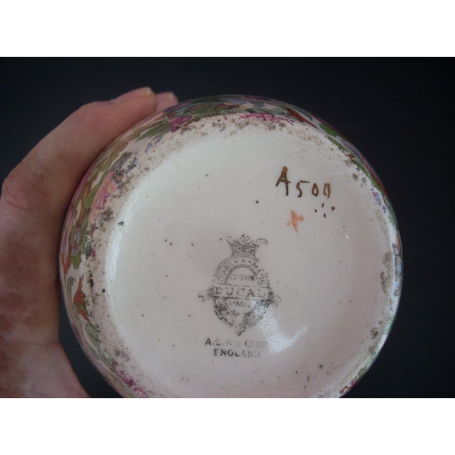 Crown Ducal Ware Chintz Vase Chairish