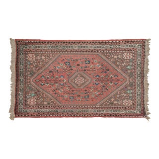 """Vintage Abadeh Rug - 3'5"""" X 4'10"""" For Sale"""