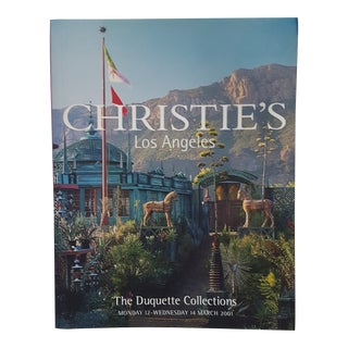 'Christie's the Duquette Collections' Art Book For Sale