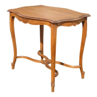 Vintage French Provincial Side Entry Table For Sale
