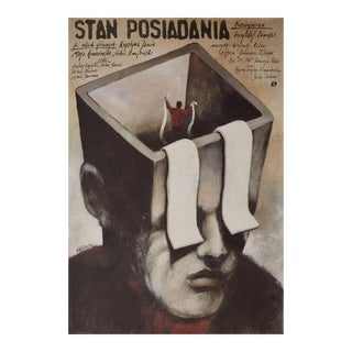 Inventory 1989 Polish B1 Film Poster For Sale
