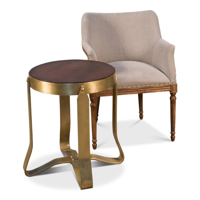 Sarreid Ltd. Sarreid Benjamin Table For Sale - Image 4 of 7