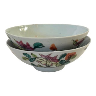 Pair of Early Chinese Bowls For Sale