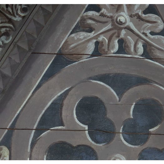 Italian Pair of Triangular Italian Architectural Elements For Sale - Image 3 of 5
