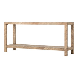 Erdos + Ko Home Lamal Drifted Oak Console Table For Sale