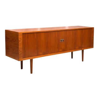 Hans Wegner President Credenza in Teak, 1960s For Sale