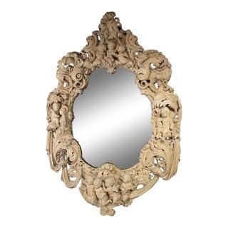 19th Century Vintage Italian Baroque Mirror For Sale