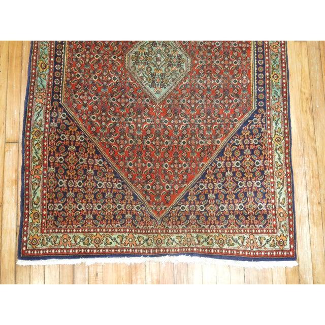 Vintage Persian Bidjar Rug - 3'9'' x 5'7'' For Sale In New York - Image 6 of 6