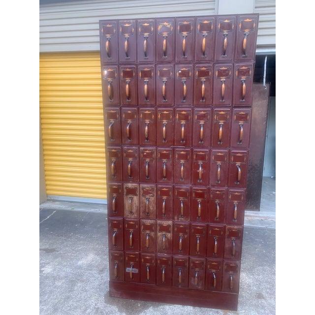 Vintage Industrial File Cabinet For Sale - Image 9 of 13