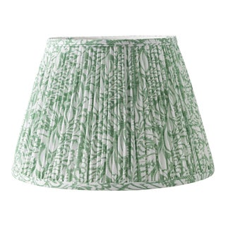 "Fern in Moss 10"" Lamp Shade, Green For Sale"