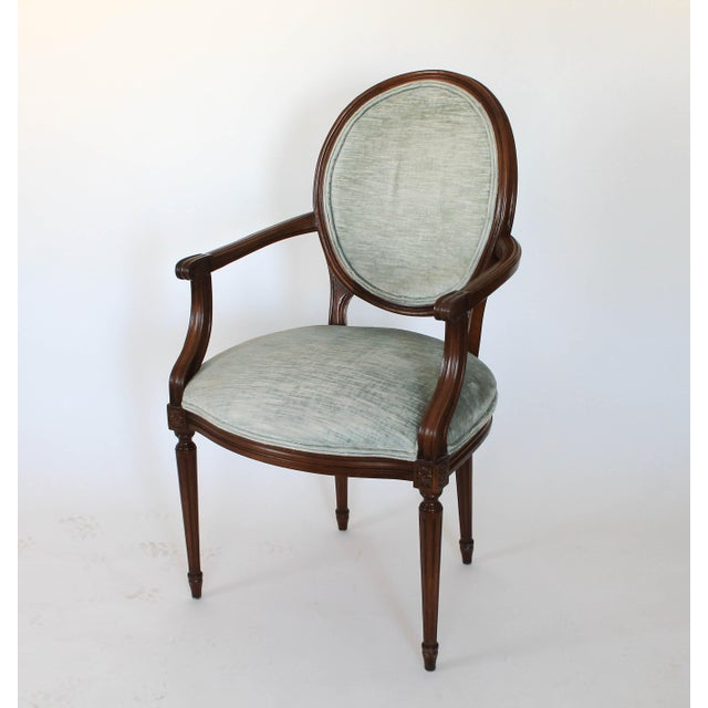 Oval-Back Fauteuil For Sale In Milwaukee - Image 6 of 12