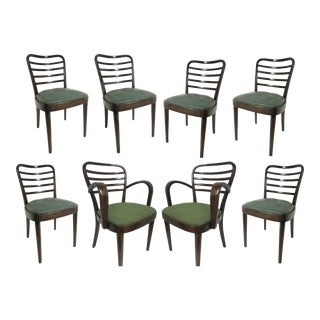 1930s Original Josef Frank Bentwood Chairs - Set of 8 For Sale