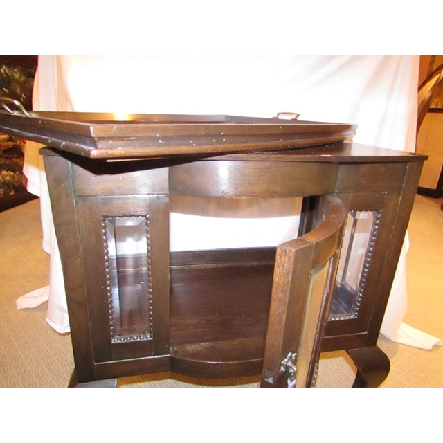 Antique Mahogany Chocolate Display Table For Sale - Image 4 of 7